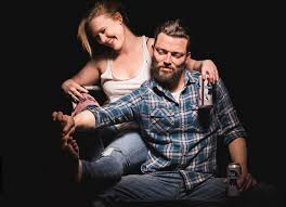Liz Sharpe and Evan Linder in Byhalia, Mississippi